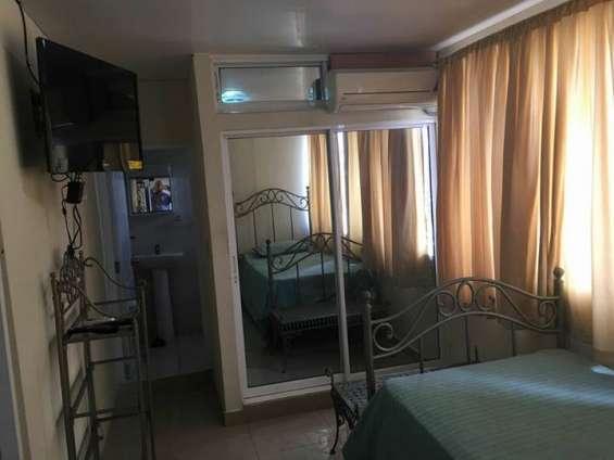Apartamento amueblado en renta, gascue, 1 habitacion, aire, inernetapartamento amueblado en renta, gascue, 1 habitacion, aire, inernet