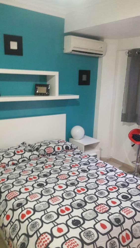 Apartamento estudio amueblado full, en naco, primer piso