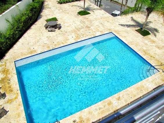 Apartamento amueblado cerros gurabo c/piscina canchas gacebo