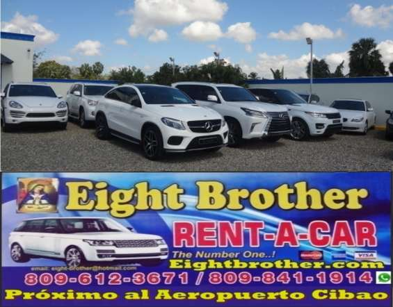 Alquiler de vehículos. eight brother rent a car en santiago, rep. dom