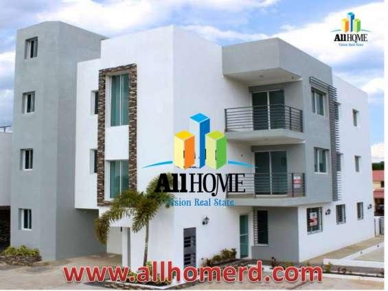 Preciosos apartamentos, embrujo iii, santiago, rd