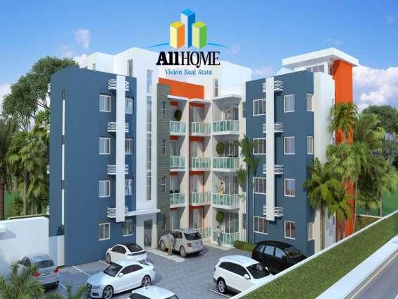 Bellos apartamentos, los alamos, santiago, rd