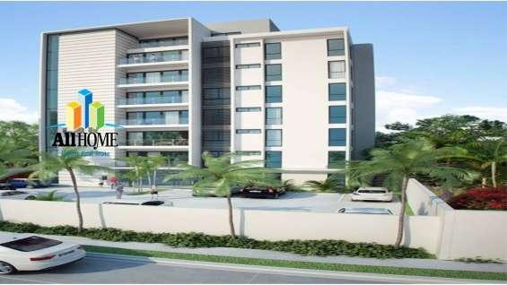 Torre de apartamentos en villa olga, santiago.