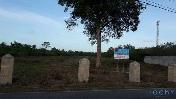 Jochy real estate vende terreno en bayahibe