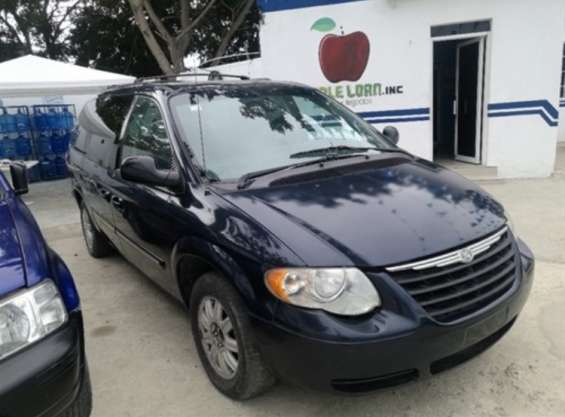 Vendo chrysler town country 2007