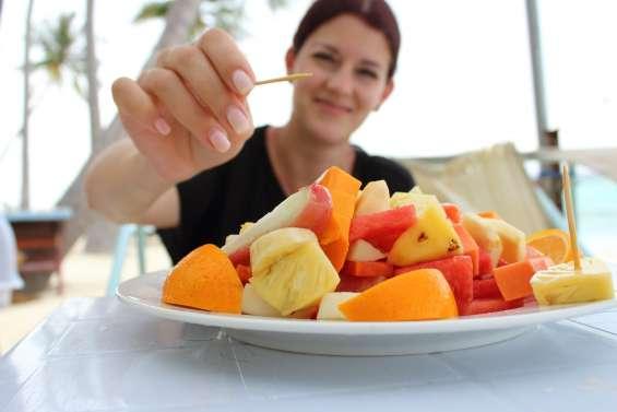 Platos de frutas a domicilio en piantini, naco y zonas aledañas