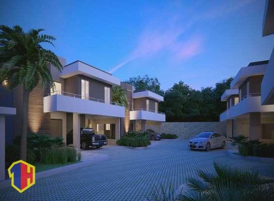 Precioso proyecto de casas en distrito