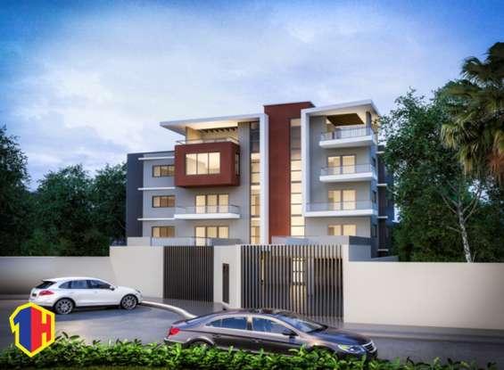 Espectacular proyecto de apartamentos