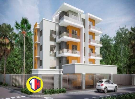Proyecto acogedor de apartamentos